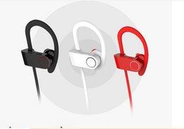 Wholesale Wireless Bluetooth Headset BEAT Sports Stereo Sweatproof Headphone CSR4 Earphone Earbuds HD Subwoofer Music Headset For PHONES AA