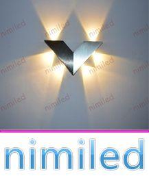 Étude sur les enfants en Ligne-Mur Chambre Lampe d'éclairage de nimi991 moderne Minimaliste LED Triangle V mur Lumières Aisle Entrée Étude Chambre Salon Enfants