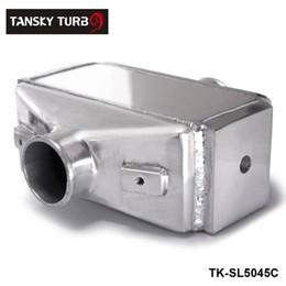 "TANSKY- 12""x11""X4.5"" Air to Water Intercooler A W IC 3"" in out Liquid Aluminum I O 3.0"" TK-SL5045C"