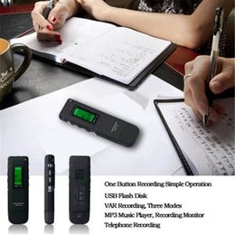 4GB USB Disk Digital Voice Recorder U Disk Pen Voice Recorder U Flash Voice Recorder For High Qulity Meetings Lessons Long Working Time