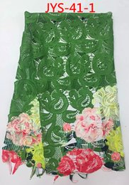 High quality wholsale price guipure lace fabric for wedding dress JYS-41