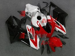 NEW 2014 Red pattern INJECTION Fairing Body Kit Set Fit CBR1000RR 2004-2005 Z18.