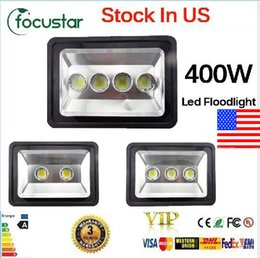 Wholesale us stock fast ship W W W led Floodlight Outdoor LED Flood light lamp waterproof LED Tunnel light lamp street lapms AC V
