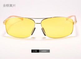 Hot Sale 2015 Alloy Frame Men Sunglasses Polarized Sunglasses Brand Cool Fashion Night Driving Glasses High Quality