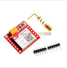 Wholesale Smallest SIM800L GPRS GSM Module MicroSIM Card Core BOard Quad band TTL Serial Port