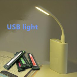 10 Pieces Start Sale Flexible USB Gadgets LED Lights for Computer Energy-saving Lighters for Reading Customized Logo Printed MI