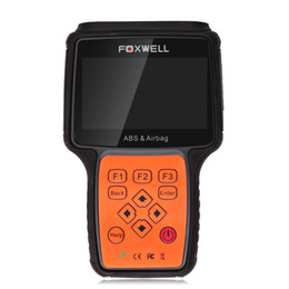 Wholesale SRS Air Bag Scan Tools ABS Airbag Reset Tool Anti Lock Brake System OBD2 Turn off ABS Airbag Warning Indicator Foxwell NT630