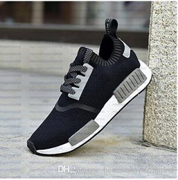 Wholesale Best N M D Runner Primeknit Sports Outdoors Boost Men Women Athletic Sneakers with Box Discount Top Quality Running Shoes Causal Shoes
