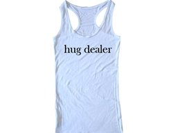 Wholesale T0070 Hug Dealer Unisex Womens T shirt Crop Tank Top