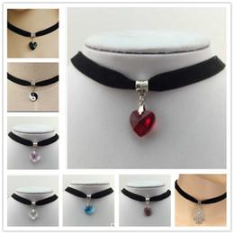 Wholesale 2016 New Hot Japanese Harajuku High Quality Jewelry Colors Sweater Beautiful Retro Women Girls Crystal Necklace Pendant