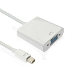 Active Mini Displayport MINI DP to VGA RGB Female adapter cable for macbook to TV & projector