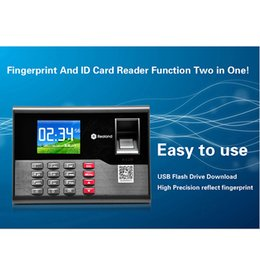 Wholesale New Biometric Fingerprint Time Attendance System Employee Time Attendance Machine F6129H