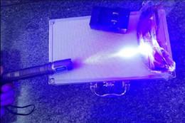 High Quality Super Blue Laser Pointers Flashlight Shoot bird Combustion Lgnition   Cutting  Irradiate burn paper 10000m laser pen blue