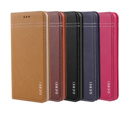 For Samsung Note 7 Case Brand Flip Stand Slim Colorful Cover Wallet Luxury Genuine Leather Case For Samsung Galaxy Note 7