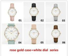 Wholesale Mix olors Casual Quartz Watch Men Women Cluse Stainless Steel Watches Relojes Hombre Horloge Orologio Uomo WR021