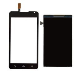 for Huawei Ascend Y530 LCD Display Panel Screen Monitor + Black   White Touch Screen Digitizer Glass Sensor Lens Replacement