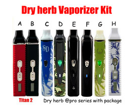 Wholesale Vape body Mod Titan G and pro series pro blue black camouflage black scale elite Vaporizer ecig kits