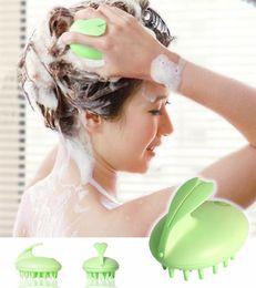 Wholesale New Magic Hair Brush Scalp Massager Shower Hairbrush Vibrating Comb Shampoo Massager TPR ABS Electric Head Massager