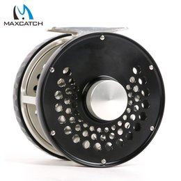 Wholesale Maxcatch Classic Fly Fishing Reel Clicker Disc Drag System CNC Machine Cut T6061 Aluminum Fly Reel