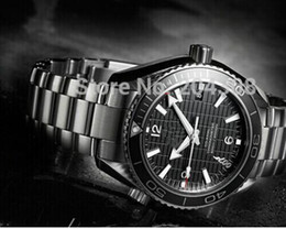 New Skyfall 007 James Bond Limited Edition Dive Mens Sports Watch Stainless steel Bracelet Black Men's Mechanical Watches