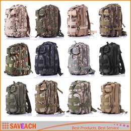 12 Colors Men Women Outdoor Sports Backpack Bag - Molle Camping Hiking Trekking Camouflage Bag Travel Backpack