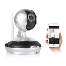 Sécurité facile en Ligne-H.View Caméra IP sans fil 720P SecurityWiFi caméra de sécurité Caméra de surveillance pour bébé Easy QR CODE Scan Connect