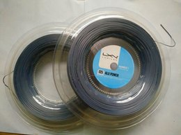 2017 New Polyester 16l silver Tennis String Alu Power 125 High Quality Guts Hot Teniss Strings,same As To The Original