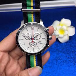 Франция человек Онлайн-Роскошные Часы известных марок мужчин Tour De France Special Edition 2016 Часы кварцевые хронограф спорта ткани ремешок смотреть мужские платья Наручные часы