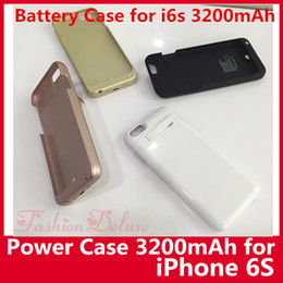 Wholesale Portable mAh External Battery Case Backup Charger Battery for iPhone6 Power Bank Case Pack Case for iPhone Hotsale UPS