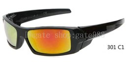 Top quality Sports Sunglasses For Men Cycling Glasses Black frame Sunglasses Brand Designer Coating Sunglass Fashion Sun Glasses