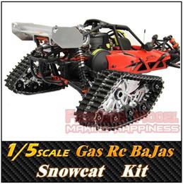 Wholesale Rovan SCALE Gasoline Engine Remote control CNC Snowcat BaJa B RC Car Truck