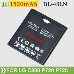 Wholesale Cheap BL LN Battery For LG C800 myTouch Q G Optimus D Max P725 CX2 LS696 P720 VM696 mAh