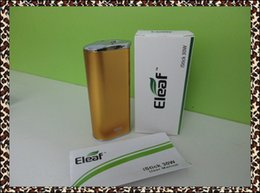 Wholesale istick W box mod mah with USB cable eGo adapter eleaf istick W battery VS eleaf istick W W W Dripbox w