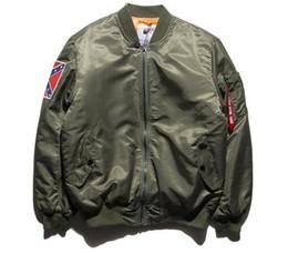2016 new fashion parkas Confederate Civil War Flag Jacket Coat YEEZUS tour MA-1 jackets limit edition black green colors flight