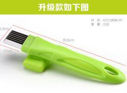 free shipping whiilesale Creative magic onion knife knife cut onion scallion shallot onion becomes kitchen essential gadget