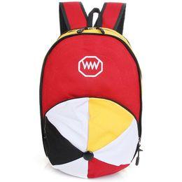 Wholesale 3D cap backpack Women hat rucksack Casual design day pack Hot sale girl walk shop daypack bag