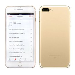 Wholesale Goophone I7 plus Quad Core with gb ram gb rom g Show fake G lte Android mp with sealed box G unlocked phone with DHL