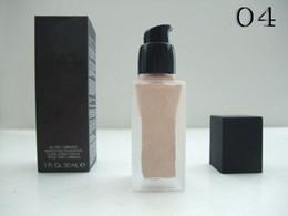 6PCs Top Quality ALLDAY LUMINOUS WEIGHTLESS Foundation makeup liquid foundation base 30ml liquid foundation base makeup Free Shipping