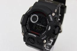 Wholesale sports electronic G W9400 Children Candy Men women Sport Digital LED SHOCKS Cartoon Jelly Wrist Watches
