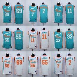 Wholesale Flint Tropics Semi Pro Movie Basketball Jersey Jackie Moon Ed Monix Vakidis Downtown Basketball Jerseys Size Small to XXXL