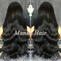 8A Grade Full density malaysian Human Hair wigs Full Lace Wig with baby hair natural hairline Lace Front Wig Glueless Wig