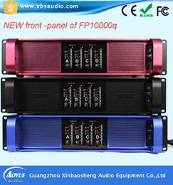 Wholesale High end audio online voice stereo mixing amplifier fp10000Qprofessional extreme power amplifier with three years warranty