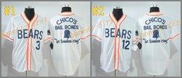 Wholesale Bad News Bears Kelly Leak tanner boyle white MLB Baseball Jerseys Elite Cool base Jersey Authentic Stitched