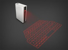Wholesale 3 in Mini Virtual Laser Keyboard With Bluetooth Speaker For iPad iPhone6 Laptop Tablet pc hone Powerbank Portable Battery Charger