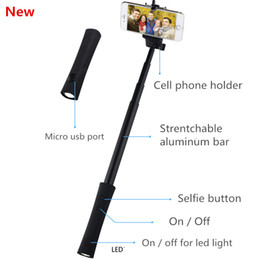 Wholesale Best halloween gift selfie sticks power banks for party friend and family union LED torch give romantic chance