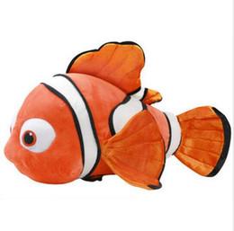 Wholesale Clown Stuffed Toy - Hot Finding Dory Plush Toy Finding Nemo Kawaii Plush 25cm Clown Fish Stuffed Animals Toy Kids Toys Birthday Gift HJIA622