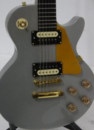 OEM Musical instruments Newest Gray High Quality Electric Guitar Free Shipping A6122