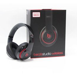 Wholesale Best Used Beats Studio Wireless Headphone Bluetooth Headset Headphones Headset with seal retail box Studio Headphones Free Fast Ship