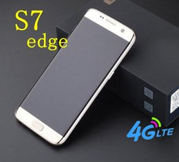 Wholesale S7 quot s7 edge quot Android Smartphone MTK6592 Octa Core GB RAM GB ROM Show G LTE Dual Camera WIFI GPS Cell Phone