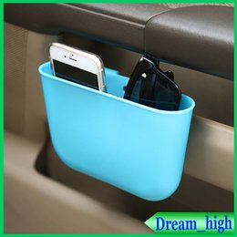 Wholesale Creative automotive supplies car trash hanging car glove box car with a small storage bins